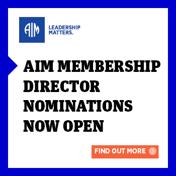 AIM Membership Director Nominations Now Open